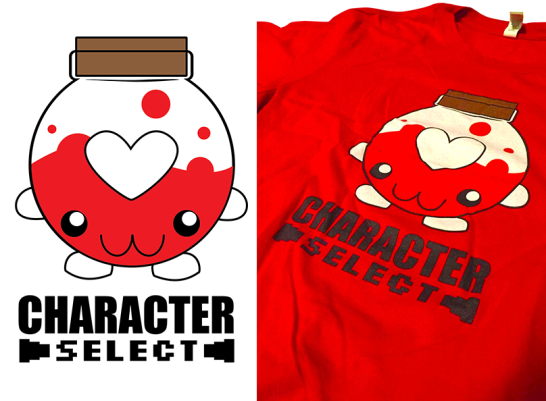 Character Select Health Potion