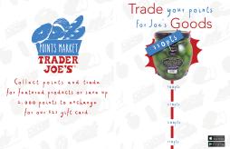 Trader Joe's Rewards App Advetrisement 2 Page Spread