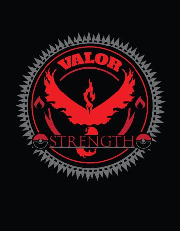Pokemon Go! Valor Badge